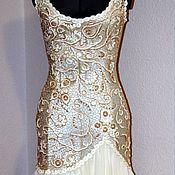 Свадебный салон ручной работы. Ярмарка Мастеров - ручная работа свадебное или вечернее платье. Handmade.