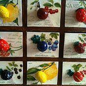 """Для дома и интерьера ручной работы. Ярмарка Мастеров - ручная работа Комодик  """"Ягодка"""" на 9 ящичков с ручками из ягодок. Handmade."""