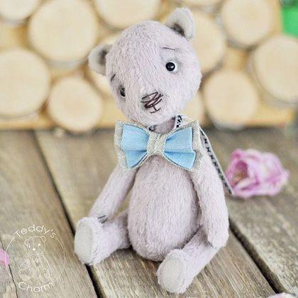 Мишки Тедди ручной работы. Ярмарка Мастеров - ручная работа. Купить Мишка Тедди Даниэль. Handmade. Бледно-розовый