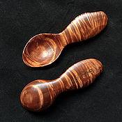 Посуда ручной работы. Ярмарка Мастеров - ручная работа Походные ложки из сувеля ольхи. Handmade.