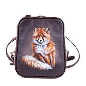 Сумки и аксессуары handmade. Livemaster - original item Women`s backpack genuine leather