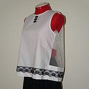 Одежда ручной работы. Ярмарка Мастеров - ручная работа Топ-блуза. Handmade.