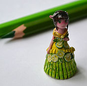 Куклы и игрушки ручной работы. Ярмарка Мастеров - ручная работа Лаймовая принцесса. Handmade.