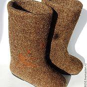 """Обувь ручной работы. Ярмарка Мастеров - ручная работа Валенки """"Охотник"""". Handmade."""