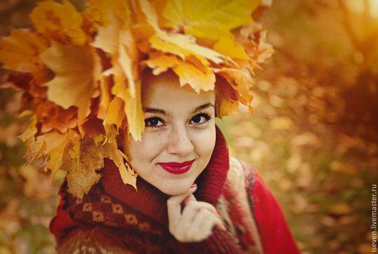 """Верхняя одежда ручной работы. Ярмарка Мастеров - ручная работа. Купить Лоскутное пальто """"Императрица осень"""". Handmade. Бордовый, зеленый"""