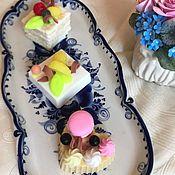 Мыло ручной работы. Ярмарка Мастеров - ручная работа Мыло ручной работы,мыльные пирожные. Handmade.