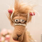 Куклы и игрушки ручной работы. Ярмарка Мастеров - ручная работа Хмурый верблюд. Handmade.