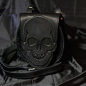 Сумки и аксессуары handmade. Livemaster - original item Men`s bag: BAG OF GENUINE LEATHER: