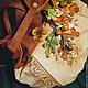 """Женские сумки ручной работы. Ярмарка Мастеров - ручная работа. Купить Сумка из нат.кожи """" Осень в моей руке..."""". Handmade."""