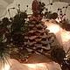 Кулинарные сувениры ручной работы. Заказать елка 3D на подставке. Гостинцы из детства КудрявцеваМария. Ярмарка Мастеров. Новый Год