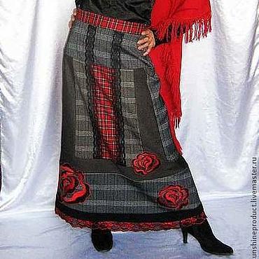 """Одежда ручной работы. Ярмарка Мастеров - ручная работа Юбка """"Сексуальная осень"""". Handmade."""