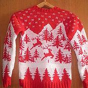 Одежда ручной работы. Ярмарка Мастеров - ручная работа вязаный норвежский ситер. Handmade.
