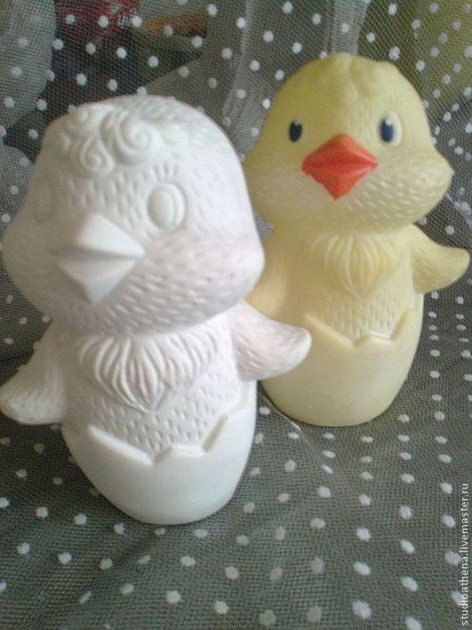 Куклы и игрушки ручной работы. Ярмарка Мастеров - ручная работа. Купить пасхальная фигурка  цыпленок. Handmade. Белый, пасхальный подарок