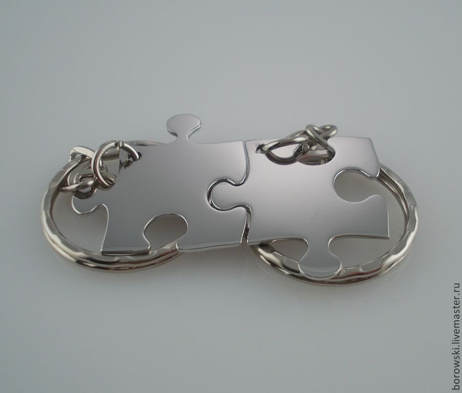 The Puzzle key chain (price is for one piece, Pendants, St. Petersburg,  Фото №1