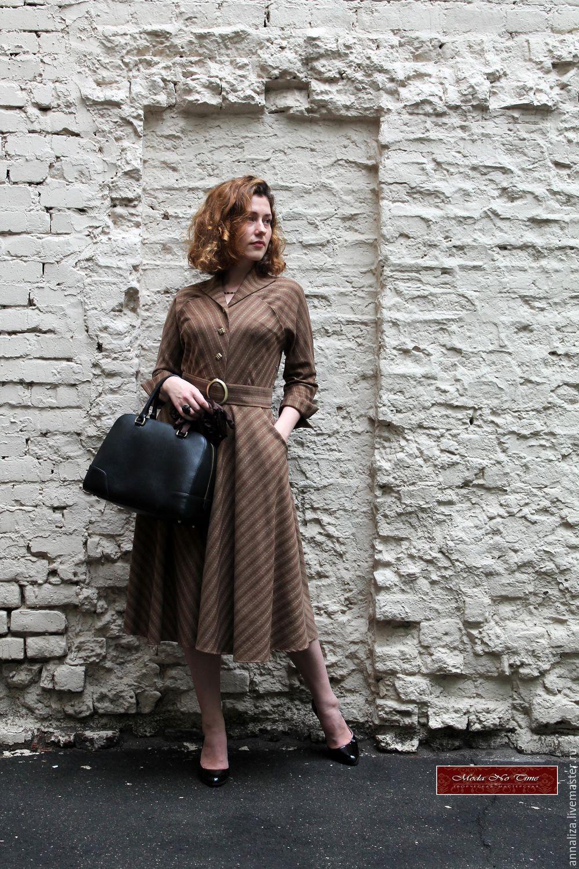 caed3e9c511 Платья ручной работы. Ярмарка Мастеров - ручная работа. Купить Платье в  ретро стиле из ...