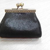 Сумки и аксессуары handmade. Livemaster - original item Wallet genuine leather on the clasp.. Handmade.
