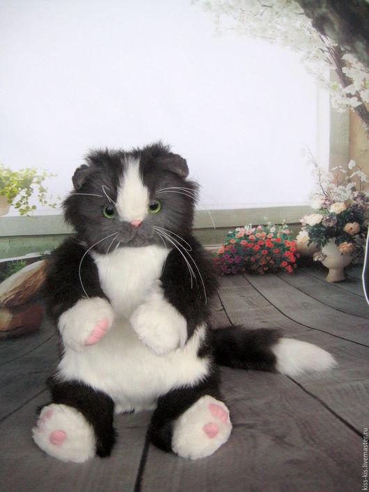 Куклы и игрушки ручной работы. Ярмарка Мастеров - ручная работа. Купить Кот Бегемот. Handmade. Чёрно-белый, мягкая игрушка