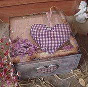 """Для дома и интерьера ручной работы. Ярмарка Мастеров - ручная работа """"Где-то в Провансе"""", короб для хранения. Handmade."""