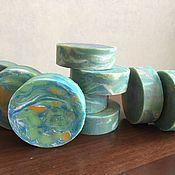 Мыло ручной работы. Ярмарка Мастеров - ручная работа Мыло Зеленый луг. Handmade.