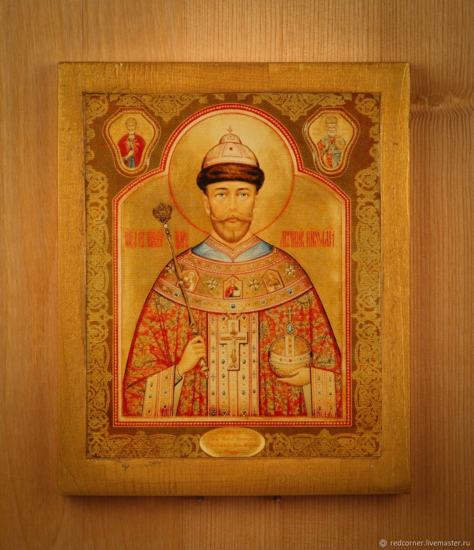 Икона святой мученик Николай второй, Иконы, Томск,  Фото №1