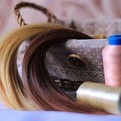 Материалы для творчества ручной работы. Ярмарка Мастеров - ручная работа Трессы (волосы) для кукол 15, 25см. Handmade.