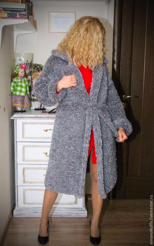Вязаное пальто - это шик, стиль и эксклюзив!!!