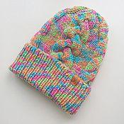 Работы для детей, ручной работы. Ярмарка Мастеров - ручная работа Шапка с косами детская. Handmade.