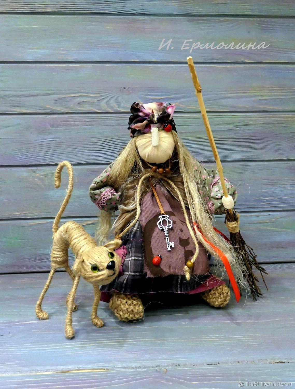Куклы и пупсы: Баба Яга - кукла-оберег для дома, Народная кукла, Санкт-Петербург,  Фото №1