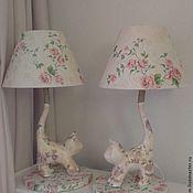 Для дома и интерьера ручной работы. Ярмарка Мастеров - ручная работа Парные лампы и интерьерные светильники. Handmade.