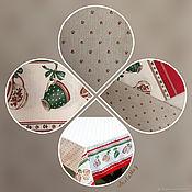 Для дома и интерьера ручной работы. Ярмарка Мастеров - ручная работа Новогодняя скатерть. Handmade.