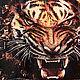 """Обложки ручной работы. Ярмарка Мастеров - ручная работа. Купить обложка """"Тигр"""". Handmade. Тигр, подарок мужчине, обложка на паспорт, для него"""