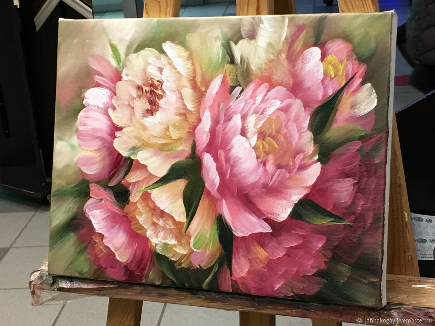 Peonies (sold), Pictures, Moscow,  Фото №1