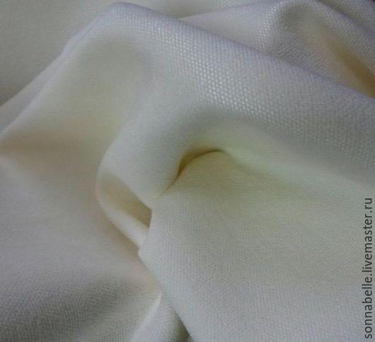 Шитье ручной работы. Ярмарка Мастеров - ручная работа. Купить Портьерная ткань для штор ворсовая Молочный, шампань. Handmade. Разноцветный