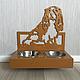 """Аксессуары для собак, ручной работы. Ярмарка Мастеров - ручная работа. Купить Кормушка """"Kuna"""". Handmade. Кормушка, подставка, мебель для собак"""