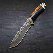 Сувениры и подарки handmade. Livemaster - original item Knife Master Of The Taiga. Handmade.