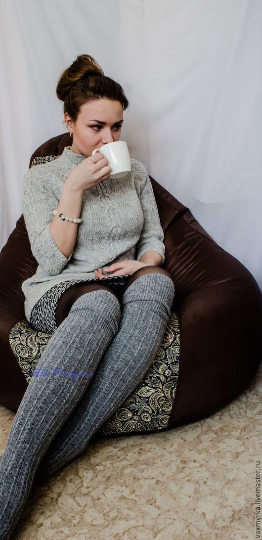 """Кофты и свитера ручной работы. Ярмарка Мастеров - ручная работа. Купить Свитер """"Уютный вечер"""". Handmade. Серый, пуловер вязаный"""