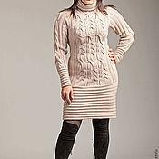"""Одежда ручной работы. Ярмарка Мастеров - ручная работа Вязанное платье """"Кэт """". Handmade."""