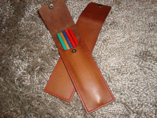 Пеналы ручной работы. Ярмарка Мастеров - ручная работа. Купить пеналы для карандашей ручек и т.д. - 2 вида. Handmade.