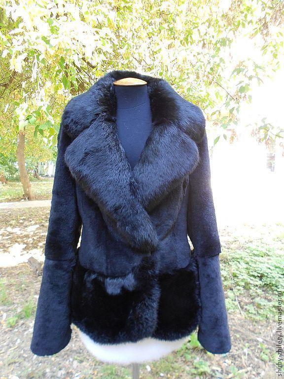 Beautiful coat with an oversized collar, Fur Coats, Nizhny Novgorod,  Фото №1