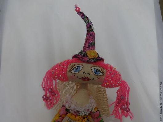Куклы тыквоголовки ручной работы. Ярмарка Мастеров - ручная работа. Купить Текстильная интерьерная кукла Маришка.Ручная работа. Handmade.