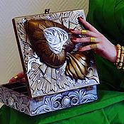 "Для дома и интерьера ручной работы. Ярмарка Мастеров - ручная работа винтажная шкатулка ""forever love"". Handmade."