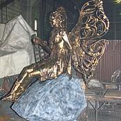 "Дизайн и реклама ручной работы. Ярмарка Мастеров - ручная работа Арт.15   Кованая скульптура ""Фея"". Handmade."