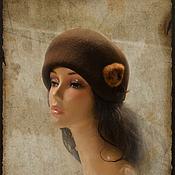 Аксессуары handmade. Livemaster - original item Hat Chocolate. Handmade.