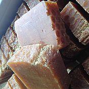 """Косметика ручной работы. Ярмарка Мастеров - ручная работа Мыло натуральное  """"Липовый мед"""". Handmade."""