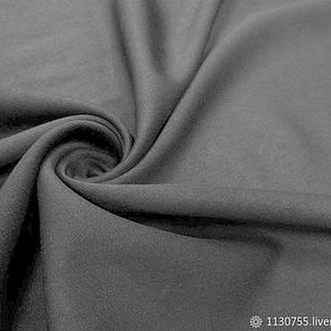 Материалы для творчества ручной работы. Ярмарка Мастеров - ручная работа ткань костюмная вискоза  сатин черн.. Handmade.