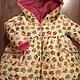 Верхняя одежда ручной работы. Ярмарка Мастеров - ручная работа. Купить куртка для девочки. Handmade. Разноцветный, для детей, Плащёвая ткань