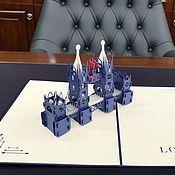 Модели ручной работы. Ярмарка Мастеров - ручная работа Тауэрский мост, Лондон - 3D открытка / сувенир ручной работы. Handmade.