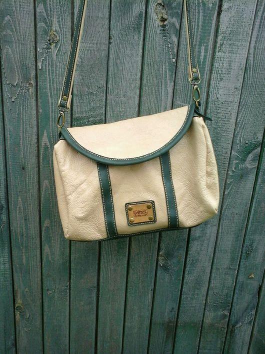 Женские сумки ручной работы. Ярмарка Мастеров - ручная работа. Купить Мягкая кожаная сумочка через плечо. Handmade.