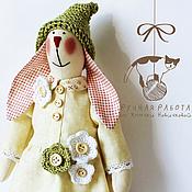 Куклы и игрушки ручной работы. Ярмарка Мастеров - ручная работа Зайка в стиле Тильда Пашенька. Handmade.