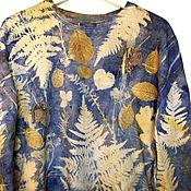 "Одежда ручной работы. Ярмарка Мастеров - ручная работа Джемпер ""Травы леса"". Handmade."